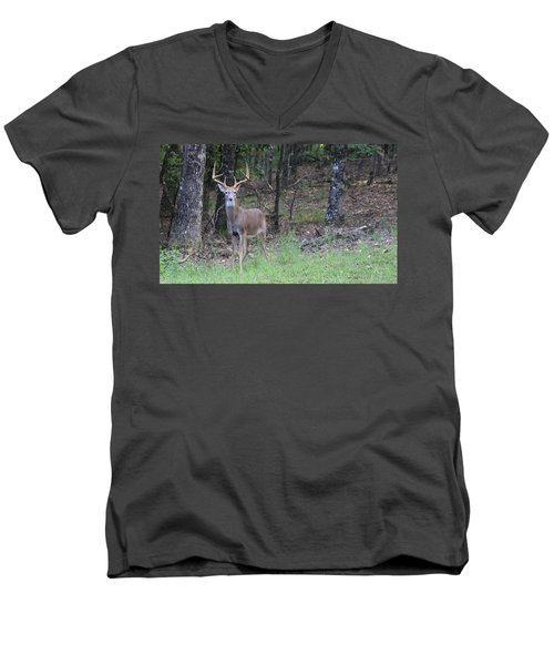 Big Buck Men's V-Neck T-Shirt