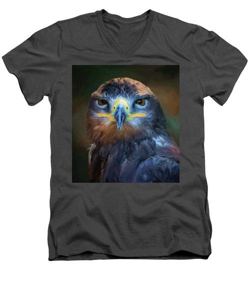 Birds - Lord Of Sky Men's V-Neck T-Shirt