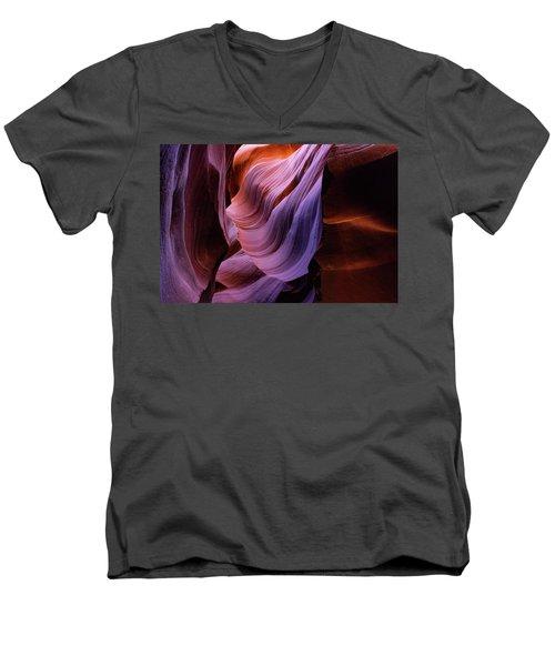 The Body's Earth 1 Men's V-Neck T-Shirt
