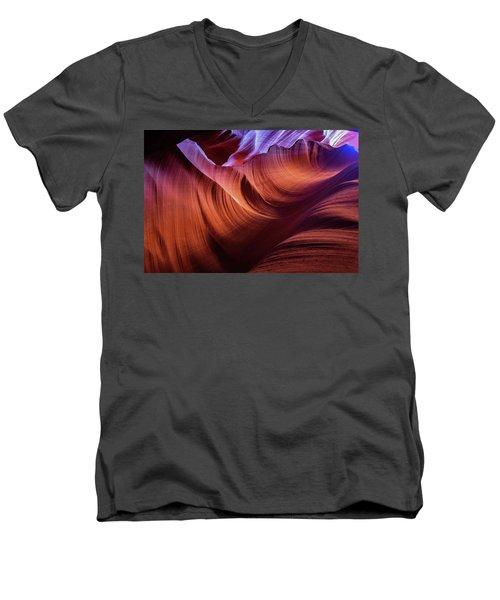 The Body's Earth 3 Men's V-Neck T-Shirt