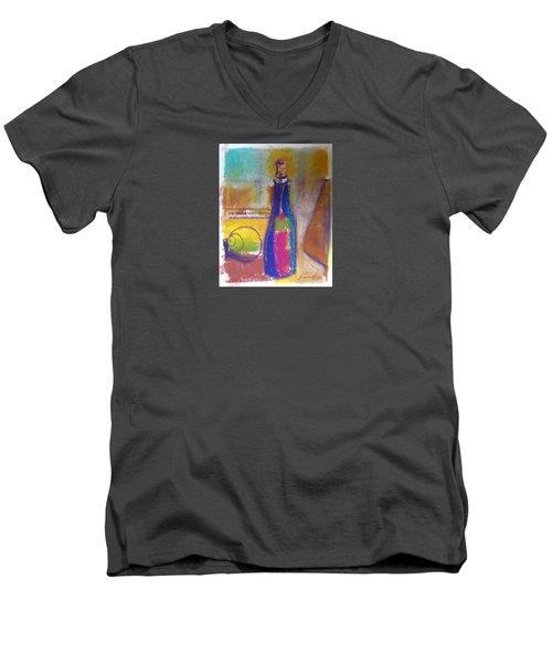 Blue Bottle Men's V-Neck T-Shirt