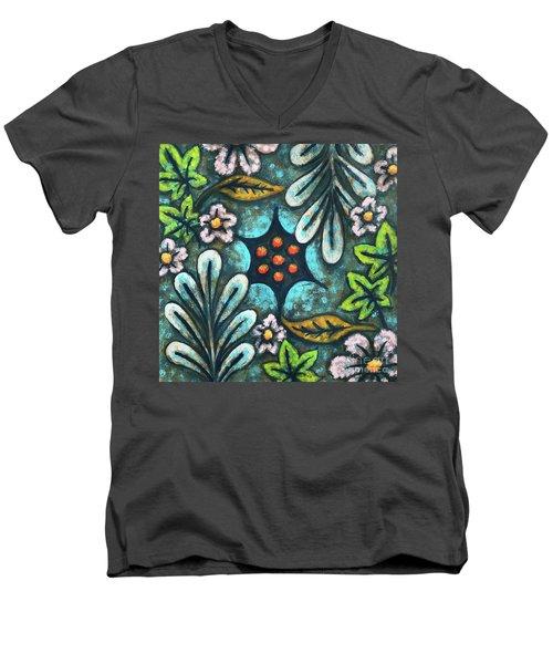 Blue Mood 2 Men's V-Neck T-Shirt