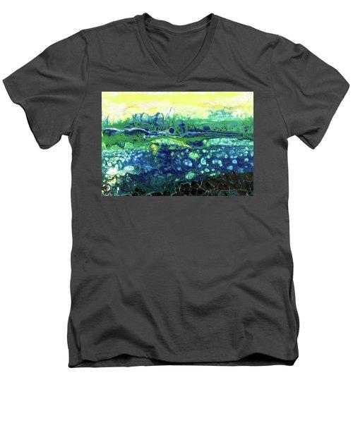 Blueberry Glen Men's V-Neck T-Shirt