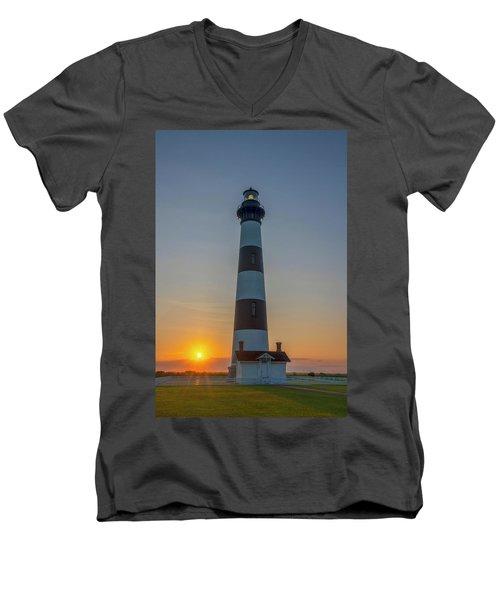 Bodie Island, Sunrise, Obx Men's V-Neck T-Shirt