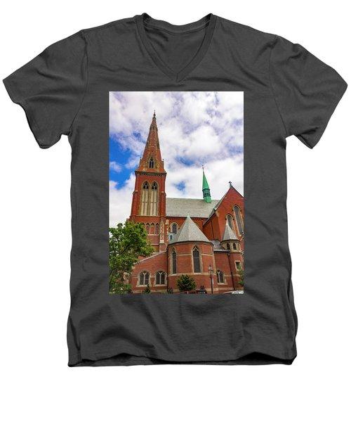 Boston Series 5250 Men's V-Neck T-Shirt