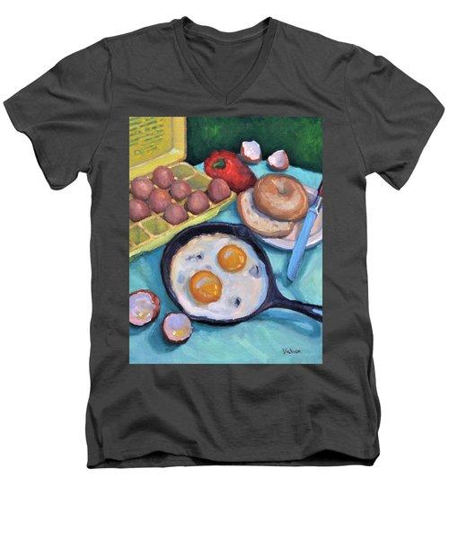Breakfast Men's V-Neck T-Shirt