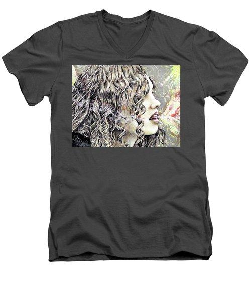 Breath Men's V-Neck T-Shirt