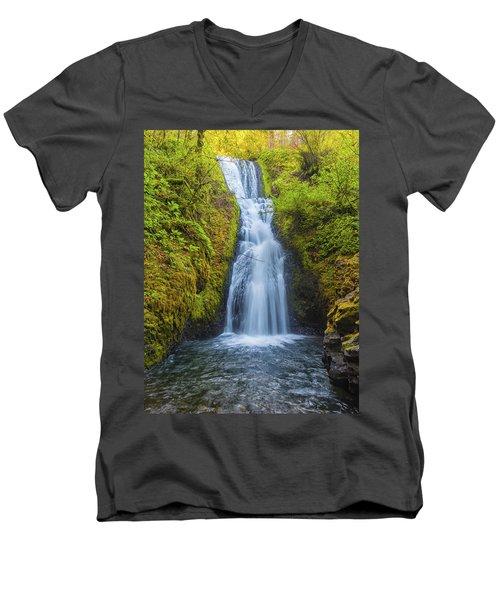 Bridal Veil Men's V-Neck T-Shirt
