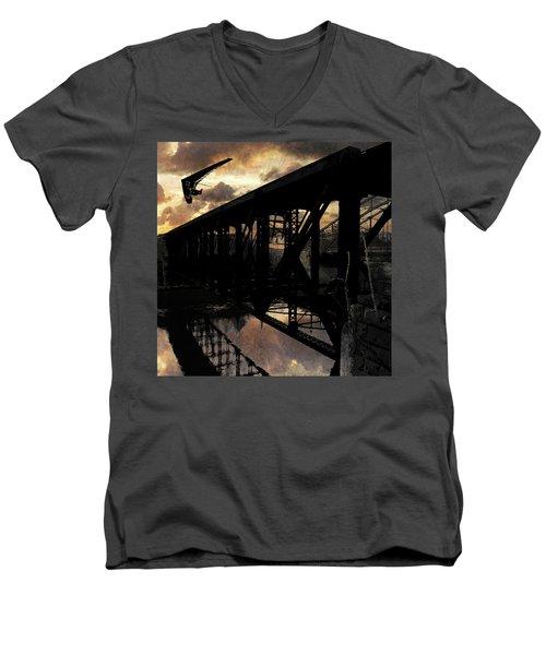 Bridge I Men's V-Neck T-Shirt