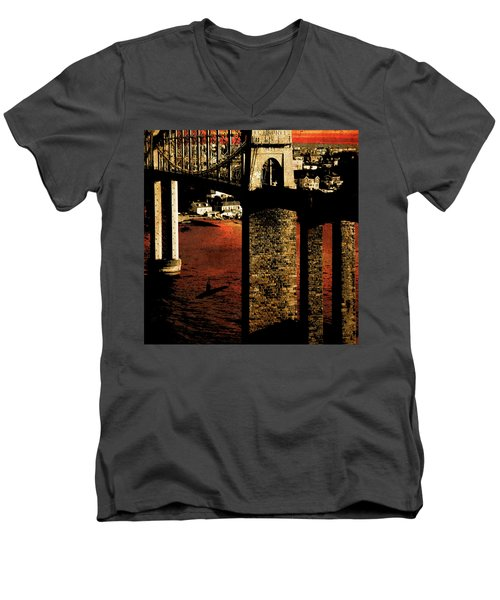 Bridge II Men's V-Neck T-Shirt