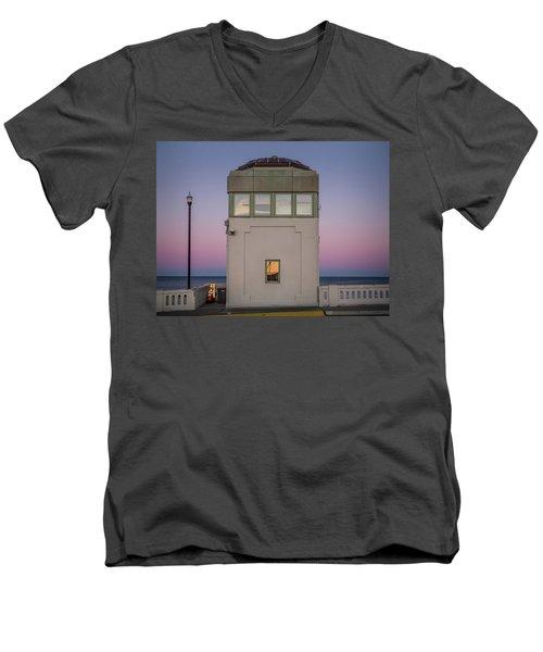 Bridge Tender's Tower Men's V-Neck T-Shirt