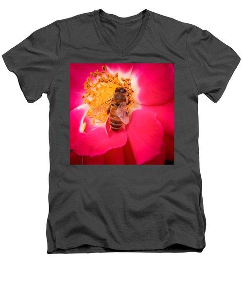 Brilliant Bee Men's V-Neck T-Shirt