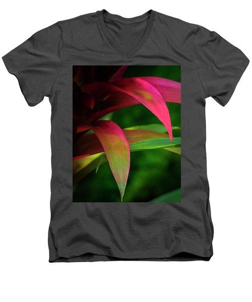 Bromelia Men's V-Neck T-Shirt