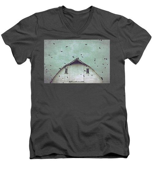 Busy Barn Men's V-Neck T-Shirt