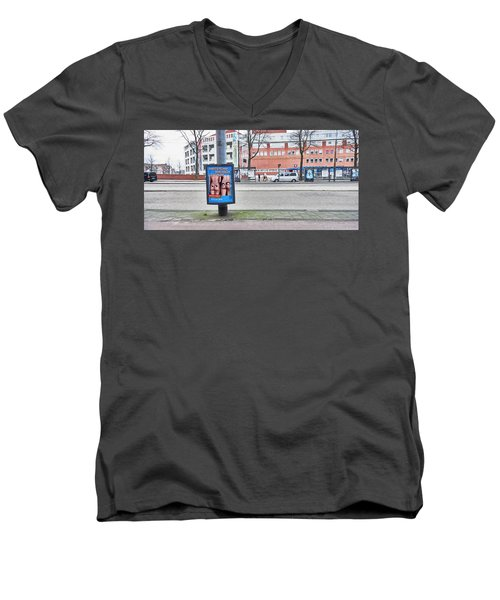 Butt Men's V-Neck T-Shirt