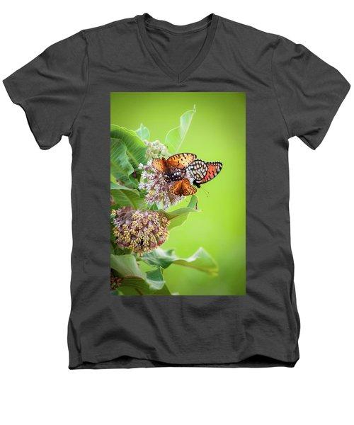 Butterfly Buffet II Men's V-Neck T-Shirt