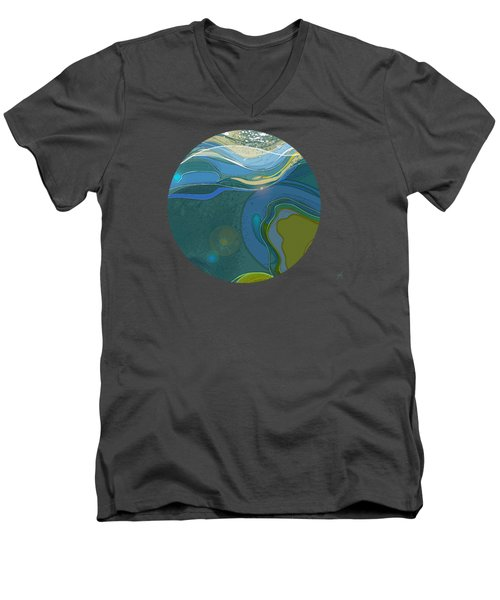 By The Sea Men's V-Neck T-Shirt