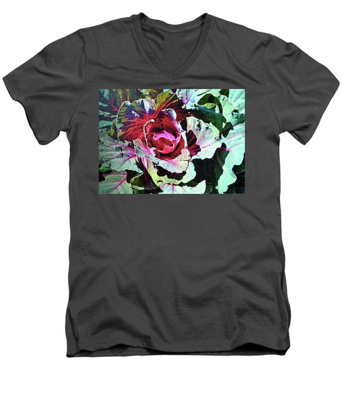 Cabbage Men's V-Neck T-Shirt