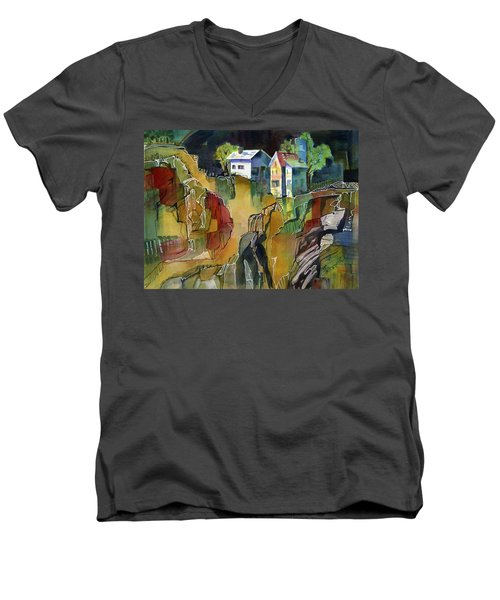 Cabin Life Men's V-Neck T-Shirt