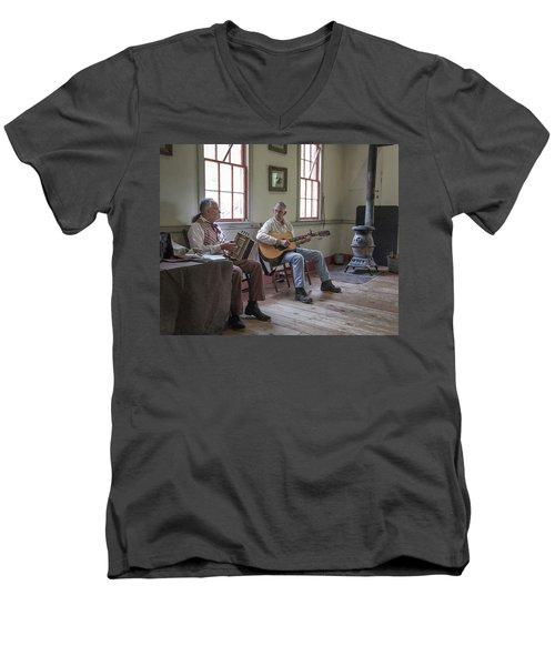 Cajuns Men's V-Neck T-Shirt