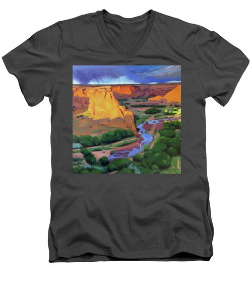 Canyon De Chelly Men's V-Neck T-Shirt