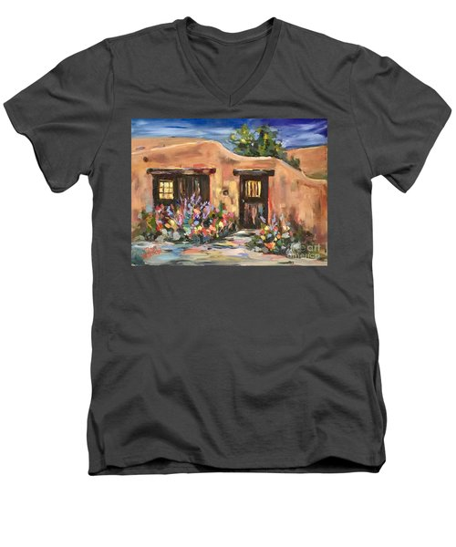 Canyon Road Casa Men's V-Neck T-Shirt