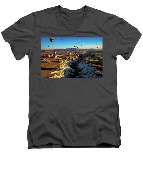 Capadoccia Men's V-Neck T-Shirt