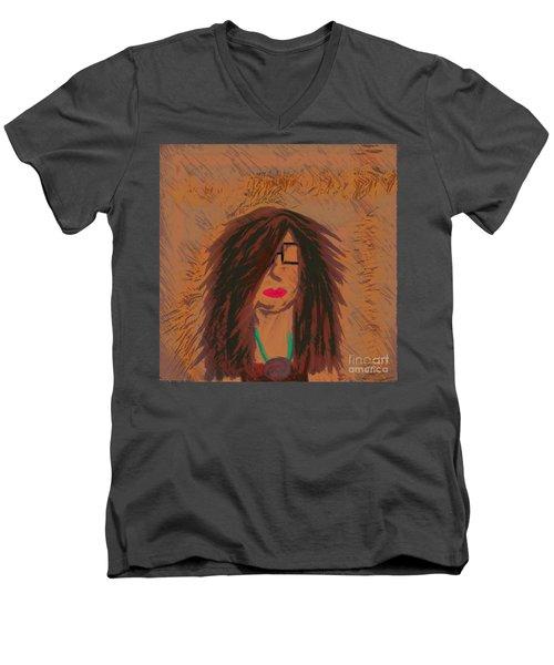 Selfie Men's V-Neck T-Shirt