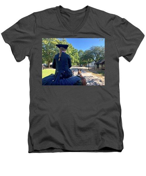 Carriage Ride Men's V-Neck T-Shirt