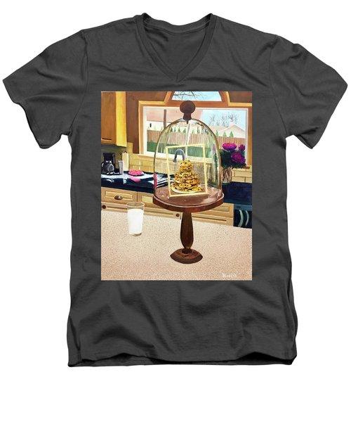 Ce Ne Sont Pas Du Lait Et Des Biscuits Men's V-Neck T-Shirt