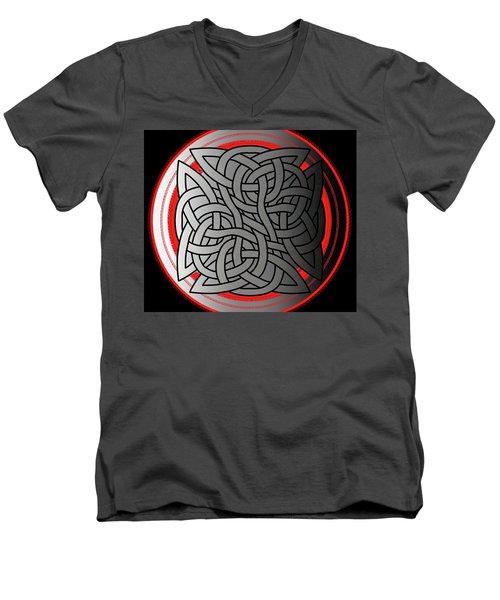 Celtic Shield Knot 4 Men's V-Neck T-Shirt