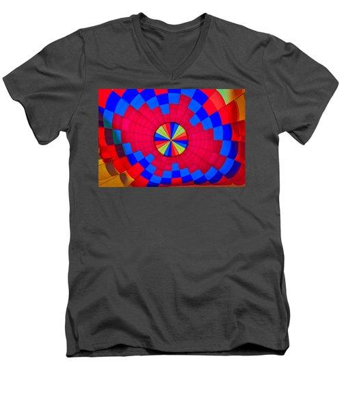 Centerpoint Men's V-Neck T-Shirt