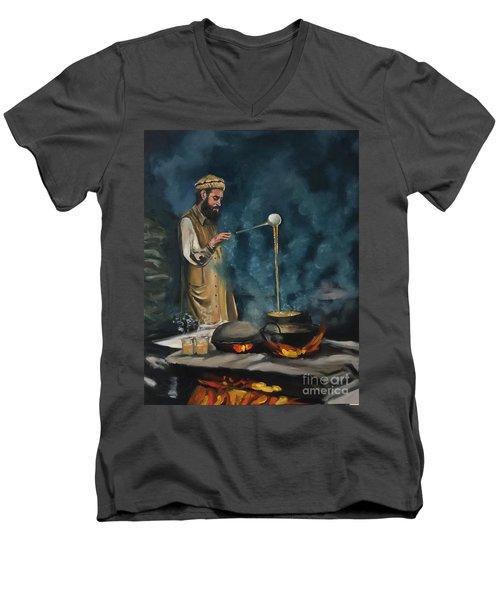 Chai Wala Men's V-Neck T-Shirt