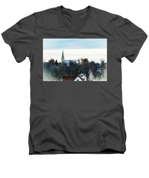 Christmas Day Drive Men's V-Neck T-Shirt