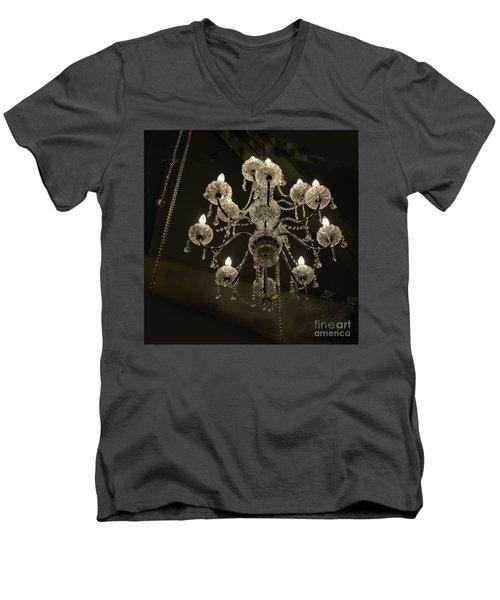 Chrystal Lights Men's V-Neck T-Shirt