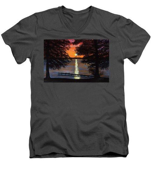 Cindy Beuoy - Lake Maxinkuckee Men's V-Neck T-Shirt