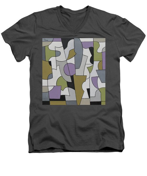 Circuitous Men's V-Neck T-Shirt