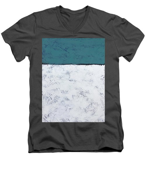 Clear And Bright Men's V-Neck T-Shirt