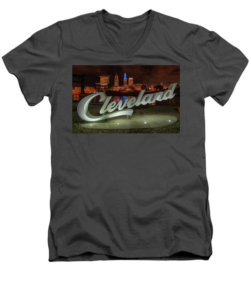 Cleveland Proud  Men's V-Neck T-Shirt