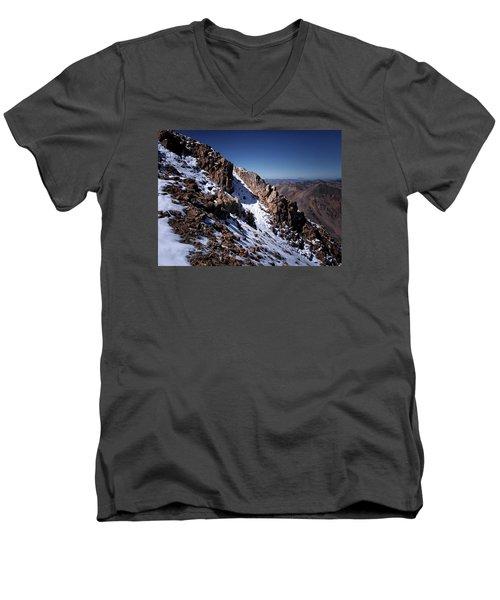 Climb That Mountain Men's V-Neck T-Shirt