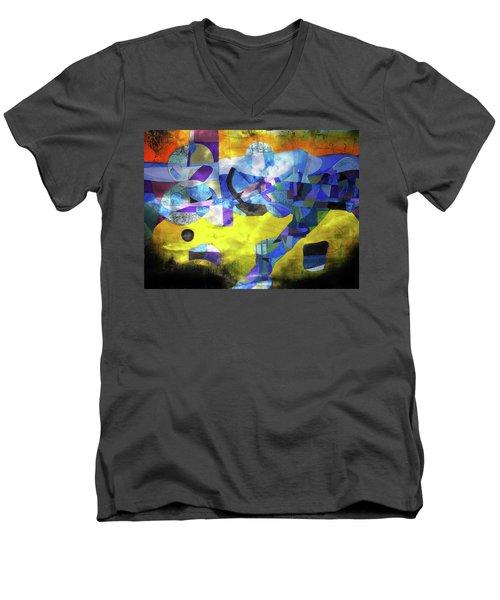 Cold Evening Wind Men's V-Neck T-Shirt