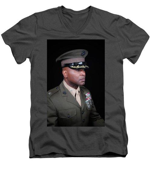 Colonel Trimble 1 Men's V-Neck T-Shirt
