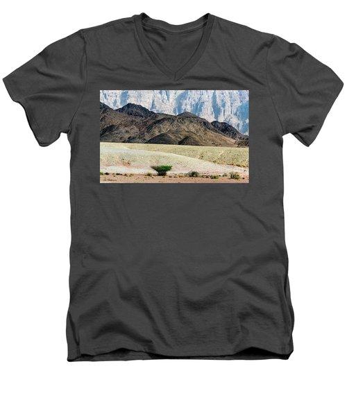 Color Layers In The Desert Men's V-Neck T-Shirt