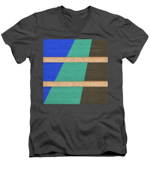 Colorado Abstract Men's V-Neck T-Shirt