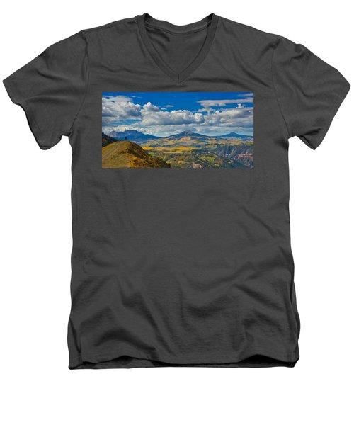 Colorado Fall Men's V-Neck T-Shirt
