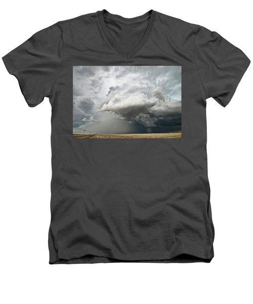 Colorado Sky Men's V-Neck T-Shirt