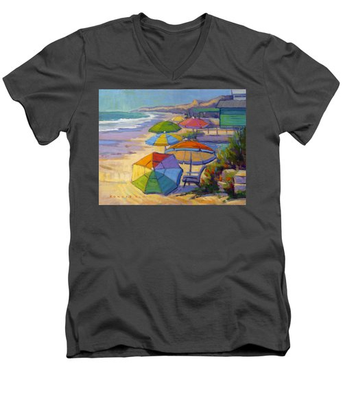 Colors Of Crystal Cove Men's V-Neck T-Shirt