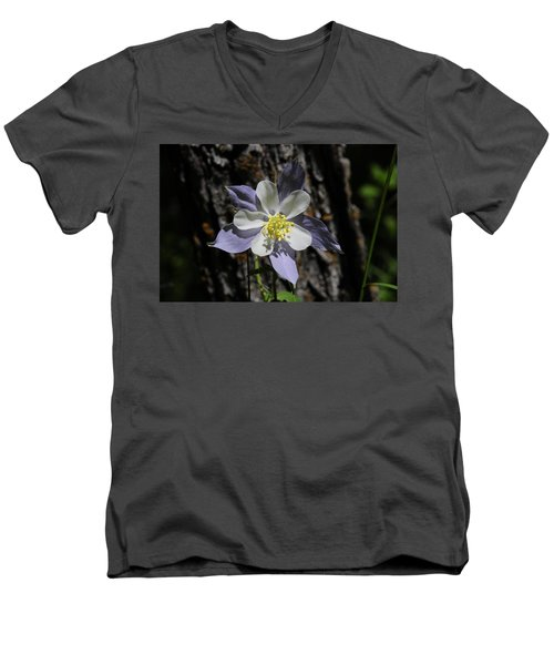Columbine Men's V-Neck T-Shirt