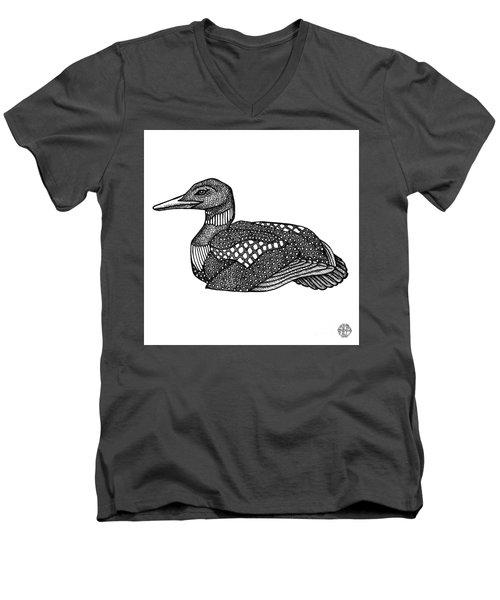 Common Loon Men's V-Neck T-Shirt