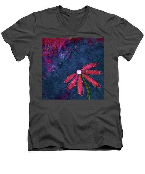 Coneflower Confection Men's V-Neck T-Shirt